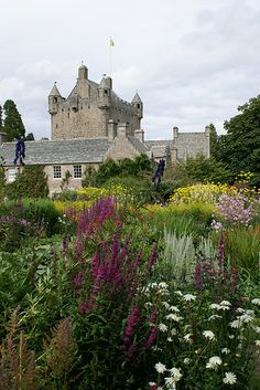 Cawdor Castle Garden, Scotland