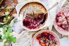 Himbeere Mango Frühstück Schuster   Paläo & vegan Rezept über für Nahrung herumtollen
