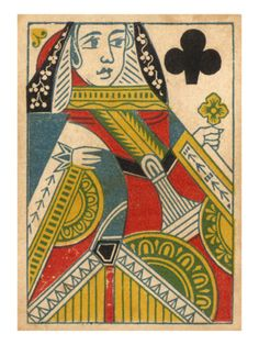 Queen of Hearts Premium Poster