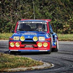 Jeannot Ragnotti at work in the Renault 5 Turbo 2