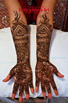 Mix bridal mehndi - by Sonia's Henna Art   https://twitter.com/Sonia_Sumr   www.facebook.com/SoniasHennaArt