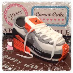 Trainer cake x
