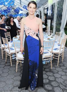 Stylish star: Cobie Smulders was a standout at the Wildlife Conservation Society gala at t...