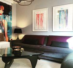 "My Custom Framed ""Paper Works""  Interior Design by Michelle Dirkse, Seattle"