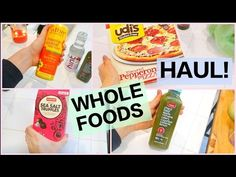 Whole Foods Grocery Haul 2015!! - YouTube