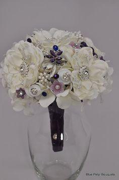 Magnolia Bling Brooch Bouquet #bridal #bouquet