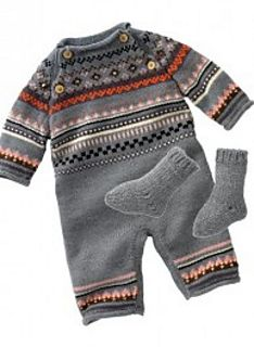 Baby Bébé Baby-Strickanleitung Bébé Kostenlose Strickanleitung für Baby-Overall Baby Knitting Patterns, Knitting For Kids, Baby Patterns, Self Binding Baby Blanket, Newborn Coming Home Outfit, Baby Boy Sweater, Pull Bebe, Baby Overalls, Diy Shorts