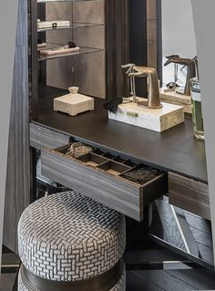Nice to meet you. wandgestaltung, 40 Dressing Table Ideas In Your Room Bedroom Closet Design, Room Interior Design, Closet Designs, Furniture Design, Interior Stylist, Furniture Market, Deco Furniture, Custom Furniture, Bedroom Dressing Table