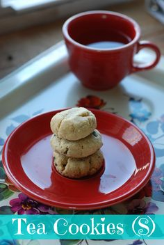Tea Cookies with new THM baking blend--can change it up to be like a Snickerdoodle, add Lilly's chocolate chips, etc.