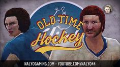 OLD TIME HOCKEY, PS4 Gameplay - Tutorial & GAME 1.