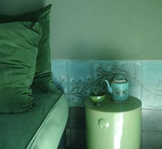 Color Combo: Emerald Green and Blue