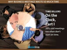 Time Killers: On the Clock, Part I (Business meetings)