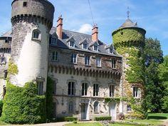 chateau de Sedaiges. Marmanhac. Auvergne
