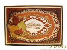 Robin's Creative Nest: JustRite Papercraft Friday Challenge #105 - Autumn Splendor