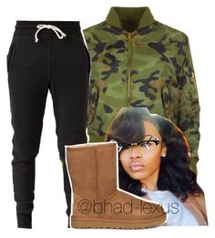 """yo forreal tho"" by bhad-lexus ❤ liked on Polyvore featuring WearAll, John Elliott and UGG"