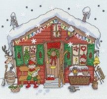 Bothy Threads - Elves' House - XX2 #crossstitch #crossstitching #crossstitchkits #bothythreadscrossstitchkits