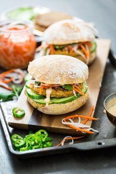 #Vegan Lemongrass Tofu Banh Mi Burgers | Keepin' It Kind