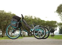 """Aiken is a recumbent tricycle designed for long distance trips by PIA ferreyra . The word """"Aiken"""" m..."""