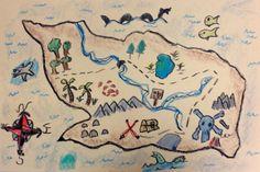 Grade  Imaginery Island Map Project