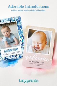 Share your joy with personalized birth announcements. Shop hundreds of designs to find one you love. From foil-stamped to animal-themed birth announcements, you're sure to find something you love in our luxe collection. Tiny Prints, Nine Months, Birth Announcements, Foil Stamping, Joy, Animal, Collection, Stampin Up, Glee