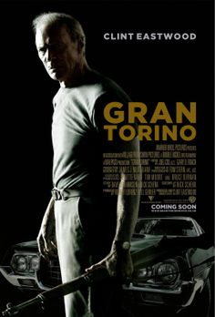 Directed by Clint Eastwood. With Clint Eastwood, Bee Vang, Christopher Carley, Ahney Her. Disgruntled Korean War veteran Walt Kowalski sets out to reform his neighbor, a Hmong teenager who tried to steal Kowalski& prized possession: a 1972 Gran Torino. Clint Eastwood, Eastwood Movies, Film Movie, Film Gif, See Movie, Gran Torino Film, Grand Torino, Movies Showing, Movies And Tv Shows