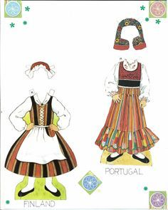 Miss Missy Paper Dolls: Traditional Folk Costumes of Europe Paper Toys, Paper Crafts, Doll Crafts, Diy Paper, Missing Missy, Paper Doll House, Costumes Around The World, World Thinking Day, Illustration Mode