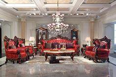 Ma Xiaoying Collection 7pc Set: Sofa, Liebesschaukel und ...