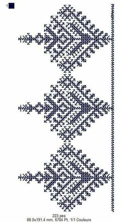 Snowflake Embroidery, Blackwork Embroidery, Embroidery Sampler, Cross Stitch Embroidery, Hand Embroidery, Motifs Bargello, Broderie Bargello, Egyptian Cotton Duvet Cover, Abayas