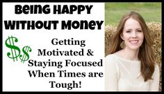 Throughout our married life we have had several hard times financially.  I have learned a few ways to keep my mind busy and satisfied, WITHOUT spending any money and I wanted to share my tips and tricks with you! I hope it helps!