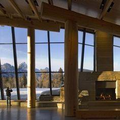 Grand Teton Discovery and Visitor Centre by Bohlin Cywinski Jackson
