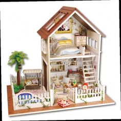 wooden dollhouse miniatures 112 furniture kit set for sale doll house with lightin pinterest dollhouse miniatures and doll houses cheap wooden s99 furniture