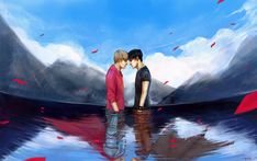 Destiny by ~ptelly on deviantART Colin Morgan, Merlin Fandom, Merlin Merlin, Merlin Memes, Bbc, Roi Arthur, Merlin And Arthur, Book Fandoms, Wiccan