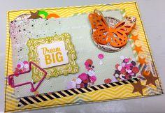 Card by Michelle www.crela.ch #scrapbooking #cardmaking