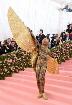A Star is Born's Lady Gaga, Richard Madden, Harry Styles and more are among the stars walking the red carpet at the Met Gala 2019 in New York City.