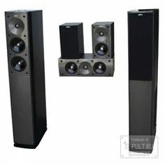 Комплект акустики Jamo S 606 HCS 3 High Gloss Black (black ash)