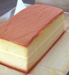 Cotton Sponge Cake With Buttercream
