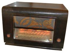 Poste radio TSF vintage Antique Capitaine Kohn 50's Juke Box, Poste Radio, Antique Radio, Tv, Speakers, Antiques, Music, Vintage, Advertising