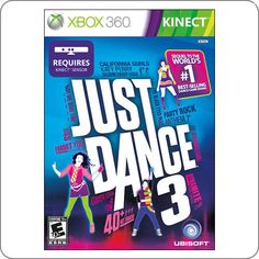 Xbox 360 Kinect Just Dance 3 R$94.90