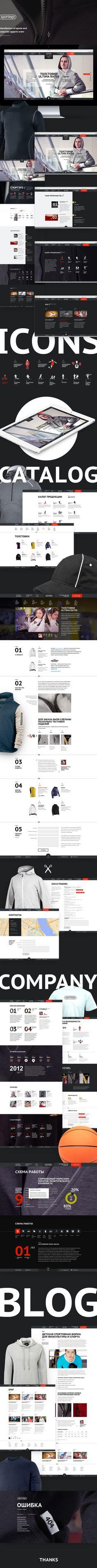Manufacture of sports and corporate apparel order Web Design Tools, Web Ui Design, Brochure Design, Tool Design, Layout Design, Graphic Design, Great Website Design, Modern Website, Ibiza