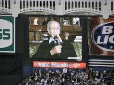the voice of Yankee stadium