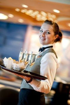 Enjoy great cocktails. MSC Cruises bar staff, always at your service.