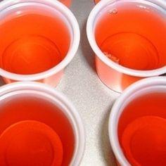 Fuzzy Navel Jello Shots Recipe | Just A Pinch Recipes