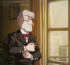 """finnrakh-tybay: """"  I don't give this old man the attention he deserves. """" Self-reblogging because reasons."""