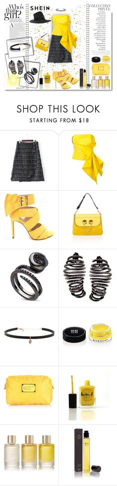 """""""SHEIN Who's That Girl?"""" by emperormpf ❤ liked on Polyvore featuring Rubin Singer, J.W. Anderson, Plukka, Carbon & Hyde, By Terry, Givenchy, Marc Jacobs, Lauren B. Beauty, Aromatherapy Associates and Wendy Nichol"""