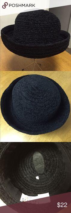 NWOT Women's Vintage Betmar Hat New York. Flash Sale.....NWOT Women's Vintage Betmar Hat New York Black 80% Acrylic 20% Polyester Brim. Very Classy Betmar New York Accessories Hats
