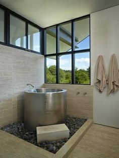 Japanese Soaking Tub | Japanese soaking tub. | dream home things.