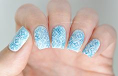 moroccan tiles nails