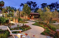 Estancia La Jolla. Our favorite place to stay. Have been going since they first opened. This is an early pic. The plants are very big now.