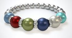 Hope my mom likes her Mother's Day Bracelet!!   Check out my Moms, Mothers Bracelet! What does yours look like? Design a bracelet in just 3 easy steps!