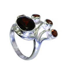 inviting Garnet Silver Red Ring exporter L-1in US 5678